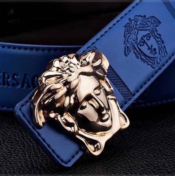 Cinturón 2016 Hot Fashion Cowhide Leather men jeans belt Designer Luxury Famous High quality Automatic hebilla hombres Cinturones para hombres