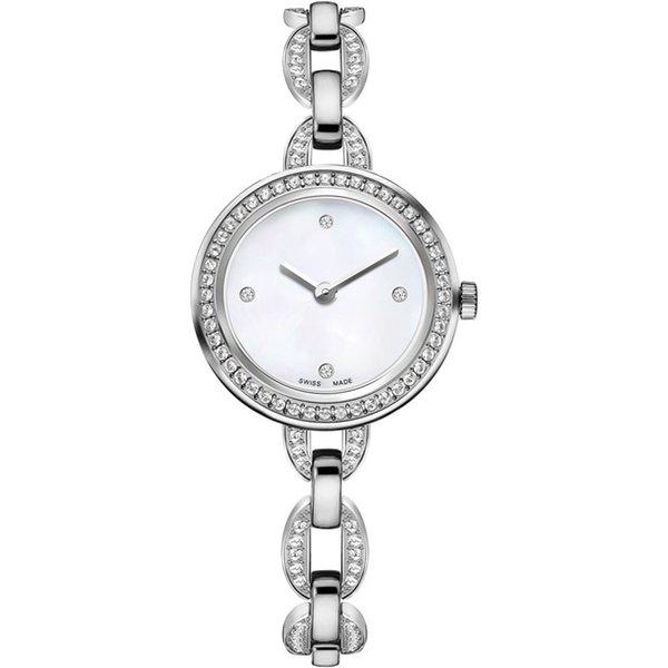 Relojes de mujer Pulsera de moda Reloj de señora de moda de ocio Oro rosa lidera la tendencia de envío gratuito