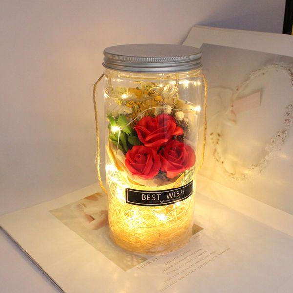 Rot mit Lampe