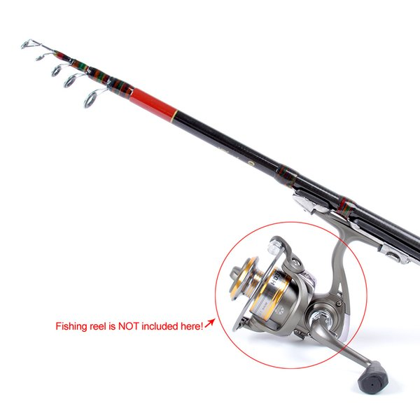 spinning lure 1.8M 5.91FT Telescopic Fishing Travel Spinning Lures Rod Raft Pole Carbon Fiber Fishing Rods Fish Equipment