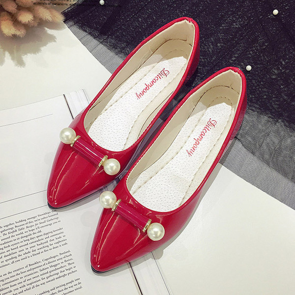 chaussures pour femme Mode Ladie Chaussures de sport Femmes enceintes Perle Respirante Ligth Flat Zigatos Mujer