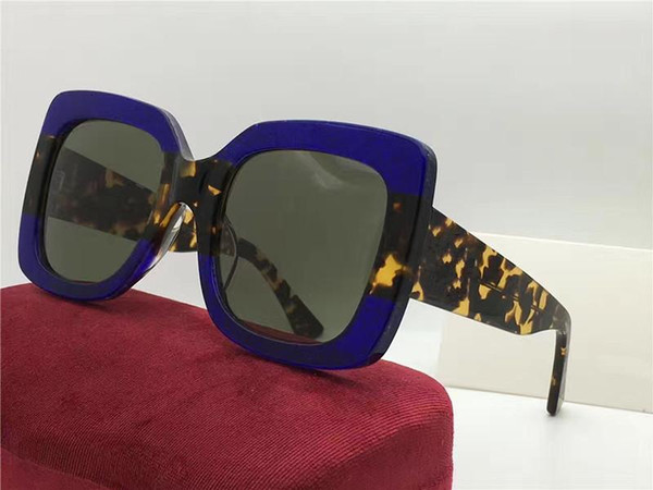Gucci GG0083S Sport-Sonnenbrille der neuen Sonnenbrille im Freien silberne moderne Anti-UVstrand eyewear heißer Verkauf australische Markensonnenbrille freies Verschiffen