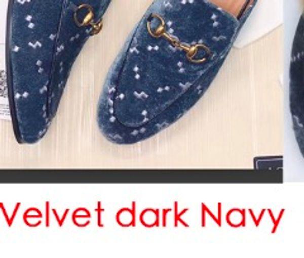Velvet dark Navy