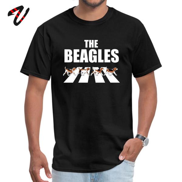 The Beagles Parody Tops Shirt Plain Round Collar Fashionable Valencia Sleeve Winter Soldier Men's T-shirts Custom Tees