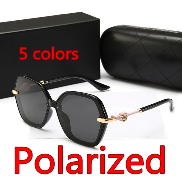 Polarisierte Sonnenbrille 8884 Modetrends Blumen Sonnenbrille Retro Driver Square Frame Sonnenbrille Männliche Goggle UV400 Gläser Großhandel