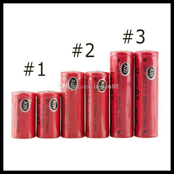 AW IMR 18350 18490 18500 14500 18650 LI-MN high drain battery for Mechanical Mods Itaste Vamo Electronic Cigarette e cig kits cheap
