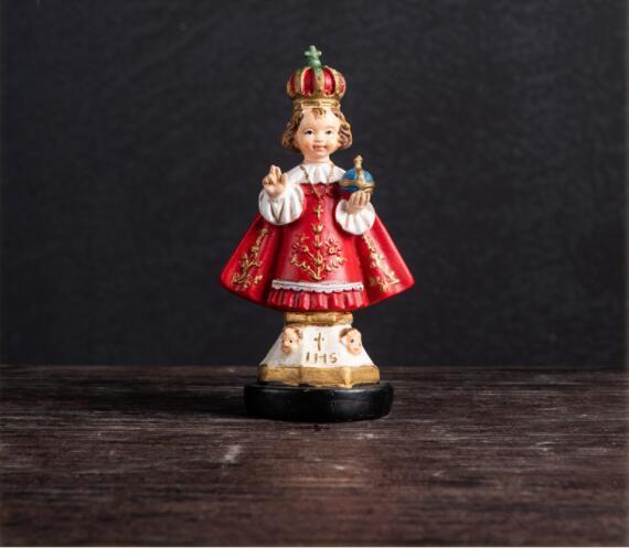 7 * 5 * 13 см смолы Женский манекен Папа Римский Кардинал Член Христианские Католические Верующие Упаковка Ювелирных Изделий Подарки украшения дома Процесс 1 шт. A398