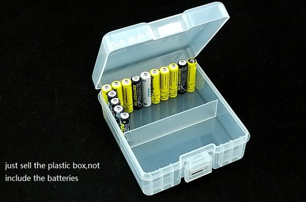 AAA Battery Storage Boxes Protector Cover Anti-resistant for 100 pcs AAA batteries Organizer AAA Battery Container Holder Moisture-proof