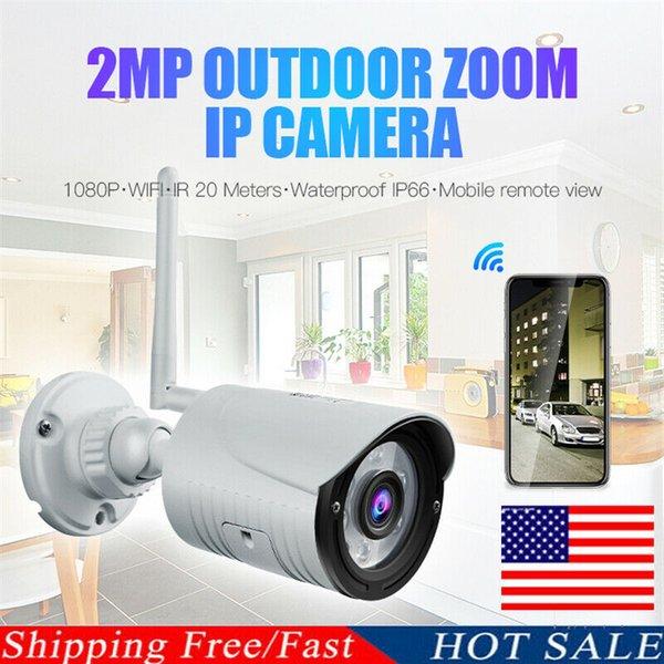 Esterna impermeabile WiFi PTZ Pan Tilt 1080P HD di IR di sicurezza IP Camera di visione notturna