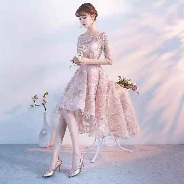 2018 new evening dress bride toast clothing wedding evening dress