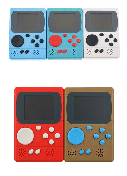 Nouvelle console de jeu vidéo Mini Pocket Handheld Game Player 198 Jeux classiques Meilleur cadeau pour enfant joueur nostalgique DHL FEDEX