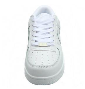 Vente chaude Taille 36-44 2019 version améliorée New All White Shoes Hommes et Femmes À La Mode Casual Chaussures livraison gratuite