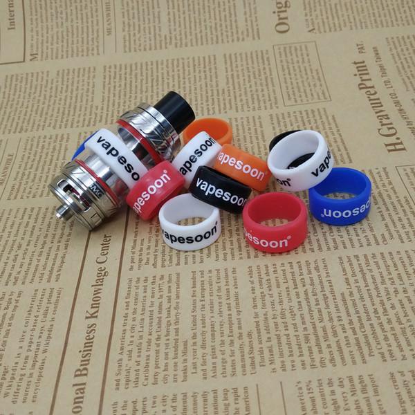 20pcs/lot vapesoon vape band ring for 20-27mm e cigarette TFV8 TFV12 MELO 300 MELO 3 MINI Atomizer 24*12*2 anti-slip ring