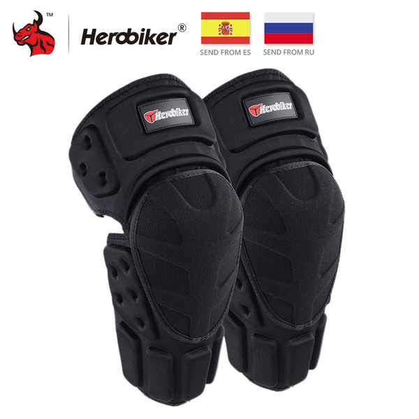 Gears Motorcycle kneepad HEROBIKER Motorcycle Pads Motocross Knee Protector Protective Guards Moto Knee Brace Support MTB Ski Protectiv...