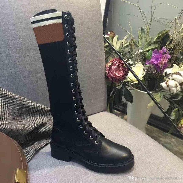 2019 Super Hot Designer Boots, Luxury Short Boots, Women's Knee Boots, Classic Fashion Boots,size:35-40,free shipping,with box