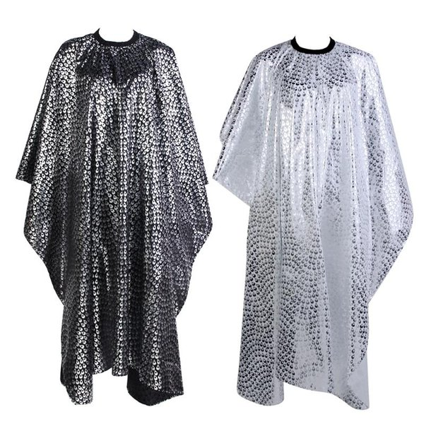 Styling Tools Wrap Pro Adult Salon Hair Cut Wrap Cloth Hairdressing Hairdresser Waterproof Cape Gown Feather Pattern