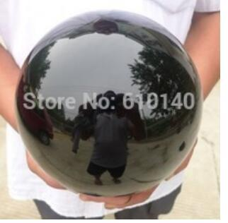New++ + cvNatural Black Obsidian Sphere Large Crystal Ball Healing