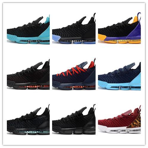 2019 nouvelle arrivée L16 échantillon noir blanc rouge chaussures de basket-ball pour hommes de bonne qualité hommes athlétiques J16s baskets de sport taille 40-46
