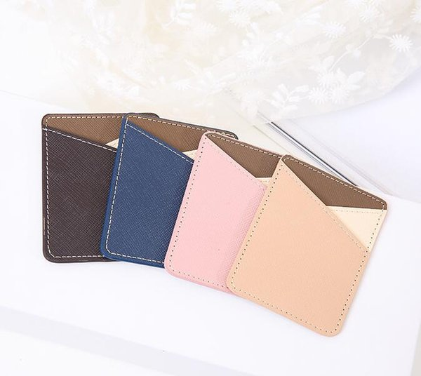 New Mobile phone back card set bus bank package card-type pocket stickers mobile phone back stickers card package