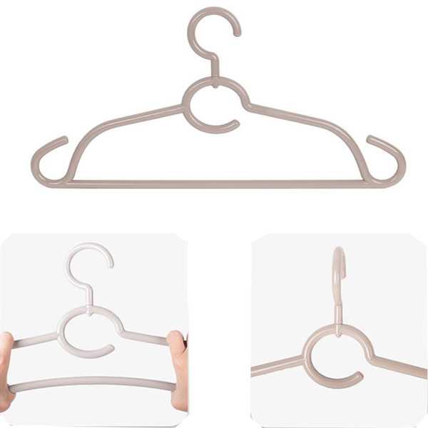 High quality 360 Degree Rotating Traceless Hanger Anti - skid Anti - wind Plastic Drying Rack For Home Balcony Creative Clothes Hanger Hook