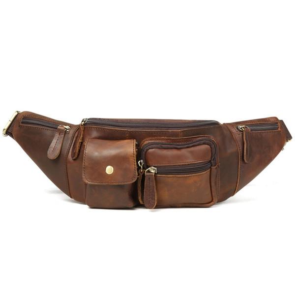 2019 Fanny Pack Black Waterproof Money Belt Bag Men Purse Teenager's Travel Wallet Belt Male Waist Bags Cigarette Case for Phone