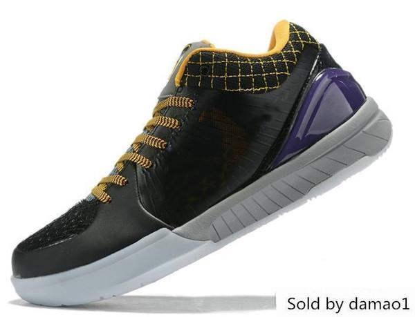 Zoom Kobe Iv 4 Protro Zapatillas de baloncesto Zapatillas deportivas Draft Day Hornets 4s Basket Ball Zapatillas de deporte Designer Boys Des Chaussures