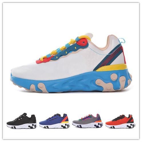 Fashio Brand bambini ragazzo scarpe con plateau designer mens scarpe da ginnastica bianche sneakers casual UNDERCOVER React Element 87 28-35