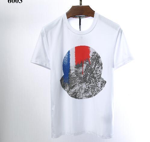 2019 novo homem marca de alta qualidade impressão t camisa prue algodão polo tees 16 cores manga curta M-3XL transporte da gota