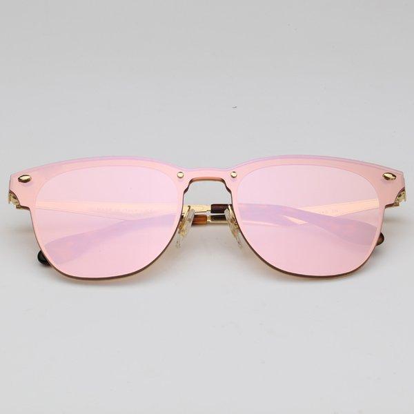 043 / E4 miroir doré / rose