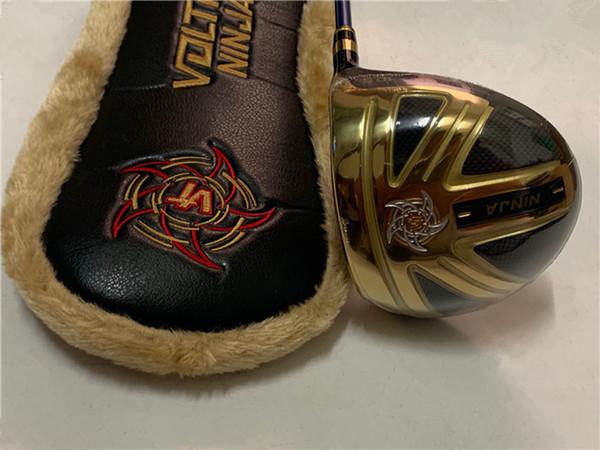 Katana Ninja driver di golf driver Katana Golf Club 9.5 / 10.5 gradi R / S / SR Pozzo della grafite con coperchio