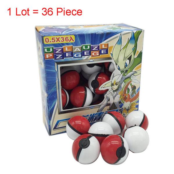 36pcs / Lot Elf agarrar la pelota Juguetes Elf bola bolas de los 3-5CM película de dibujos animados con figuras de acción juguetes educativos para niños de muñecas
