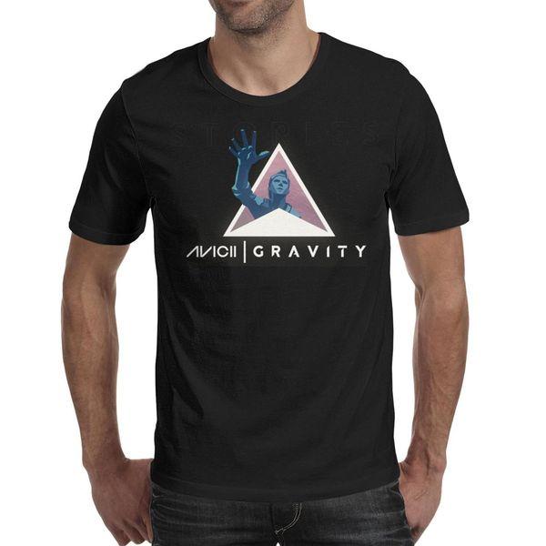 Men design printing love dj-aviciies black t shirt printing personalised cool superhero champion shirts hip hop t shirt cute neon strip