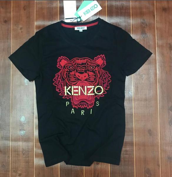 19ss hochwertige reine baumwolle stickerei hohe version männer frauen t-shirt yeezus kanye west marke t-shirt