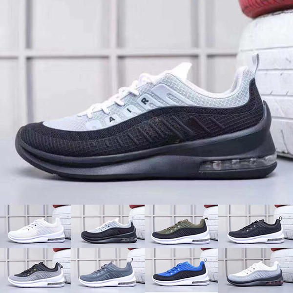 2019 New Classic 98 Running Shoes For Men Black White Sports Trainer Surface Breathable Designer Sneakers Size 40-45
