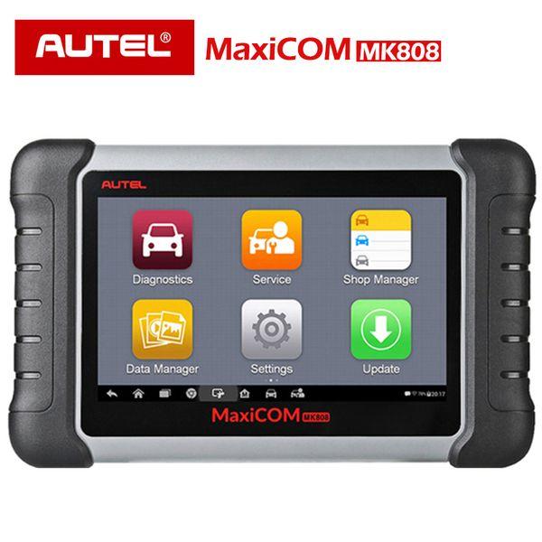 Autel MaxiCOM MK808 Automotive Scanner IMMO/EPB/SAS/BMS/TPMS/DPF Service MD802+MaxiCheck Pro MX808 OBD2 OBD