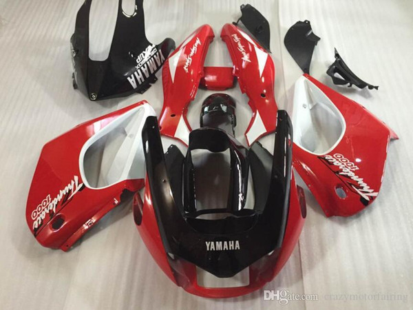 3 Gifts New ABS Fairing set 100% Fit For YAMAHA Thunderace YZF1000R 1996 1997 1998 1999 2000 2001 2002 2003 2004 2005 2006 2007 red black