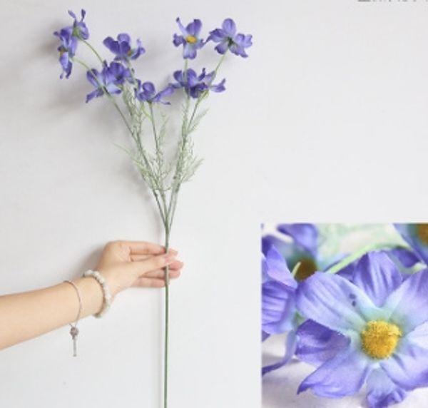 # 5 Fleur de chrysanthème en soie
