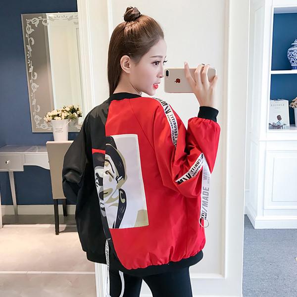 Gagarich Женская Куртка Мода 2019 Весна Осень Новая Корейская Версия Короткий Бейсбол Пальто
