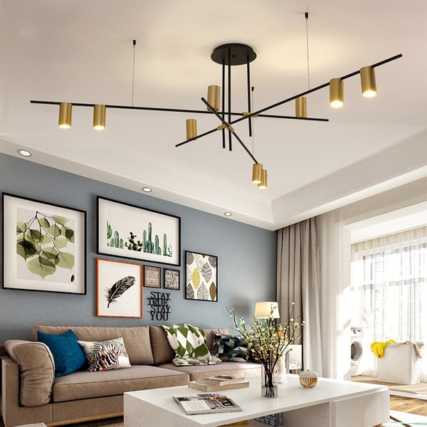 Creative Design LED Lampadari Illuminazione Personalità Appeso Branch Lamp per soggiorno Cafe Bar Bar Studio Restaurant