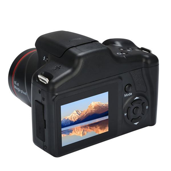 Appareil photo numérique Selfie Zoom optique de qualité supérieure Prise de vue en vidéo numérique Prise en charge de 1200 W Caméscope Full HD avec carte SD