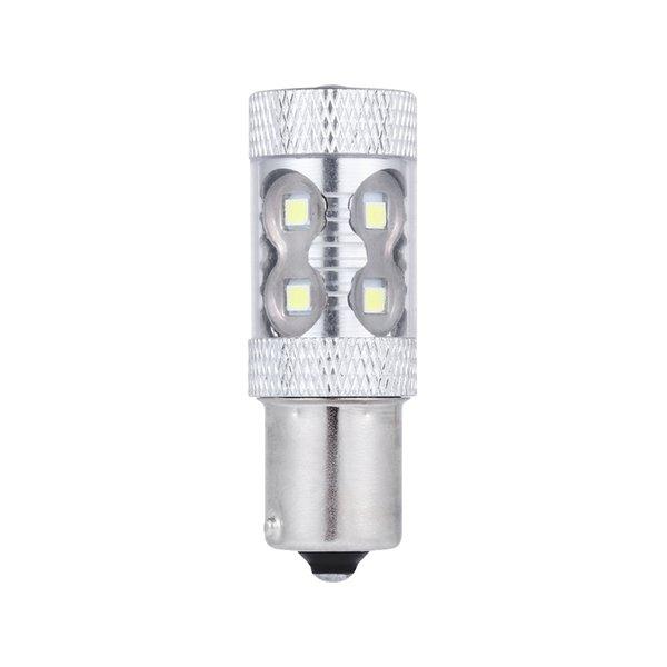 1156 BA15S P21W Led 50 W Rezerv Fren Dönüş Singal Işıkları 700LM Araba Leds Ampul Otomatik Lamba