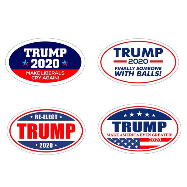 Trunfo adesivos geladeira adesivo para 2020 nos eleição presidencial Manter Fazer América Grande Decalque para geladeira adesivos