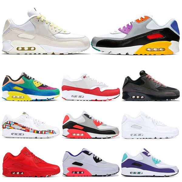various colors cute casual shoes Acheter Nike Air Max 90 VIOTECH BE TRUE MIXTAPE Femme Baskets De ...