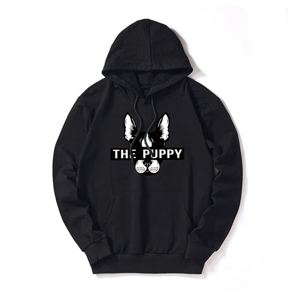 Designer Mens Hoodies Customizable Hooded Dog Head Print Fashion Pullover Loose Thin Sweaters for Men Clothing Cotton Blend M-5XL Wholesale