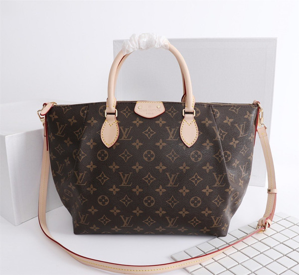 Factory Wholesale 2019 new handbag cross pattern synthetic leather shell chain bag Shoulder Messenger Bag Fashionista 40*26*14cm00001