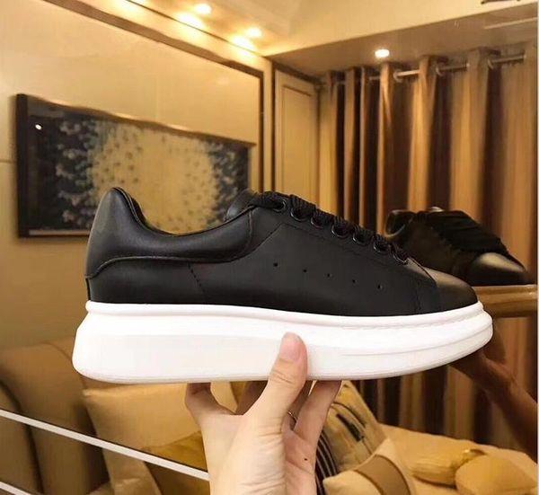 2019 дизайнерские мужские женские кроссовки дешевые лучшие высококачественные модные белые кожаные туфли на платформе плоские повседневные свадебные туфли w3