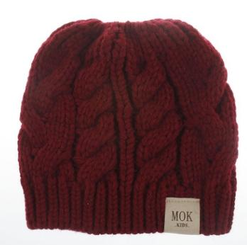 #3 knitted beanie hat