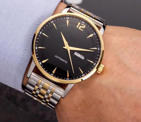 copy N40105 e-tap MEN 42mm LUXURY WATCHes automatic miyota 8205 jewels mineral glass WR 316l stainless steeL original buckle