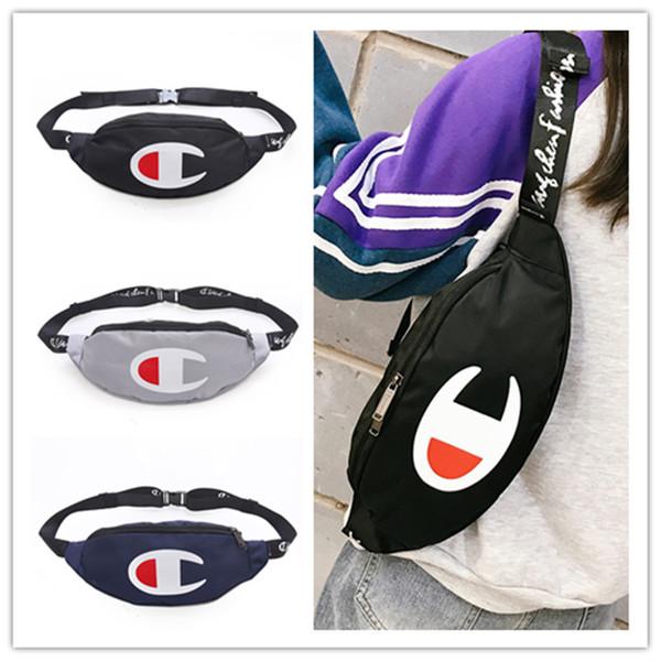 6ad442d17 Unisex Champions Print Oxford Fanny Packs Men Women Crossbody Waist Chest  Bags Belt Handbag Shoulder Bags
