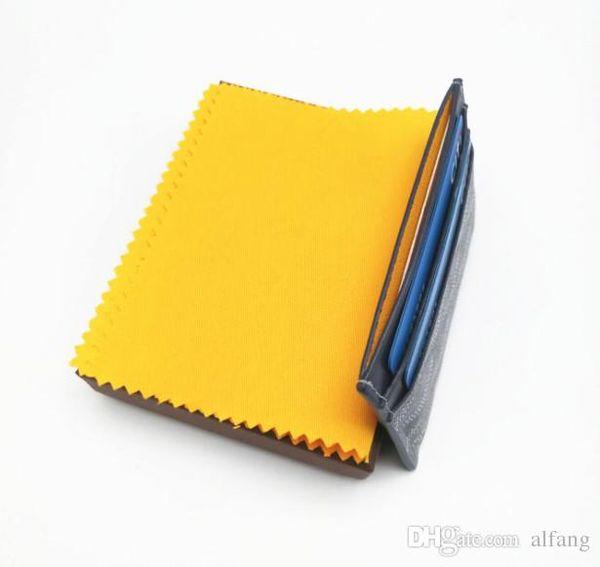 Top-Qualität Pariser Stil Luxus Designer klassische berühmte Männer Frauen berühmte echtes Leder gy Kreditkarteninhaber Mini Brieftasche